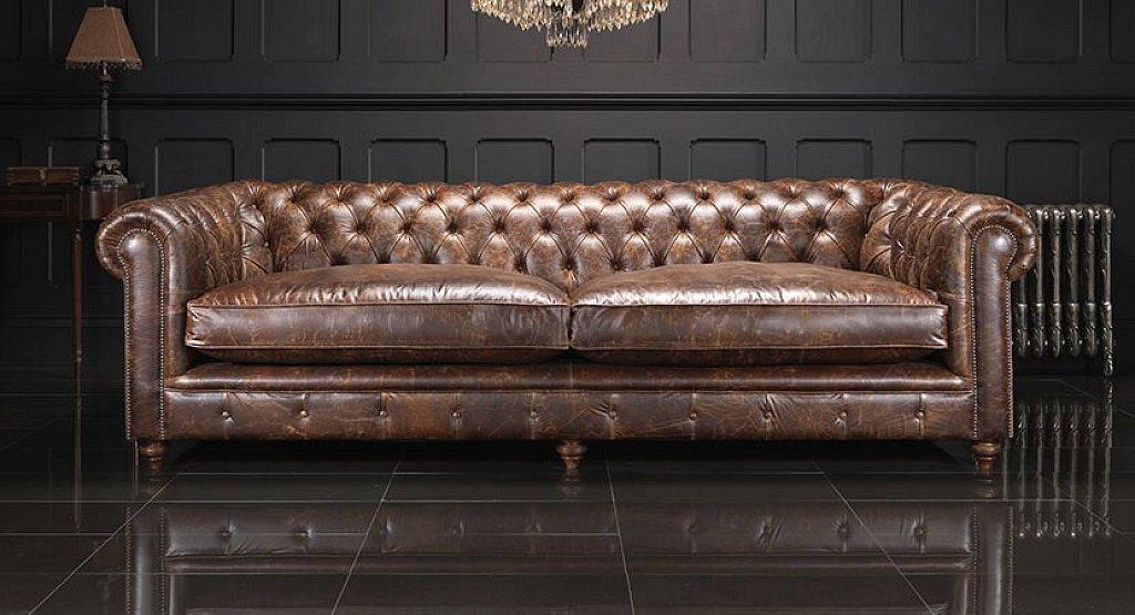 MARLBOROUGH - luxusná kožená sedacia súprava